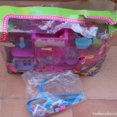Muñecas Modernas: POLLY POCKET WORLD ROCKIN THEME PARK PLAYSET . Lote 130385442