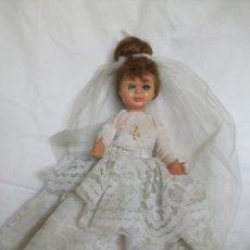 Muñecas Modernas: MUÑECA DE NOVIA-AÑOS 50-60. Lote 132559014