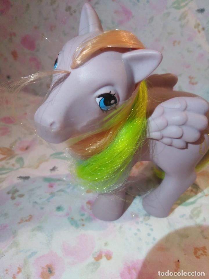 Muñecas Modernas: Mi pequeño pony, muy little pony Tickles,Pegaso Plumitas,Hasbro 1984.Nuevo - Foto 2 - 134454090
