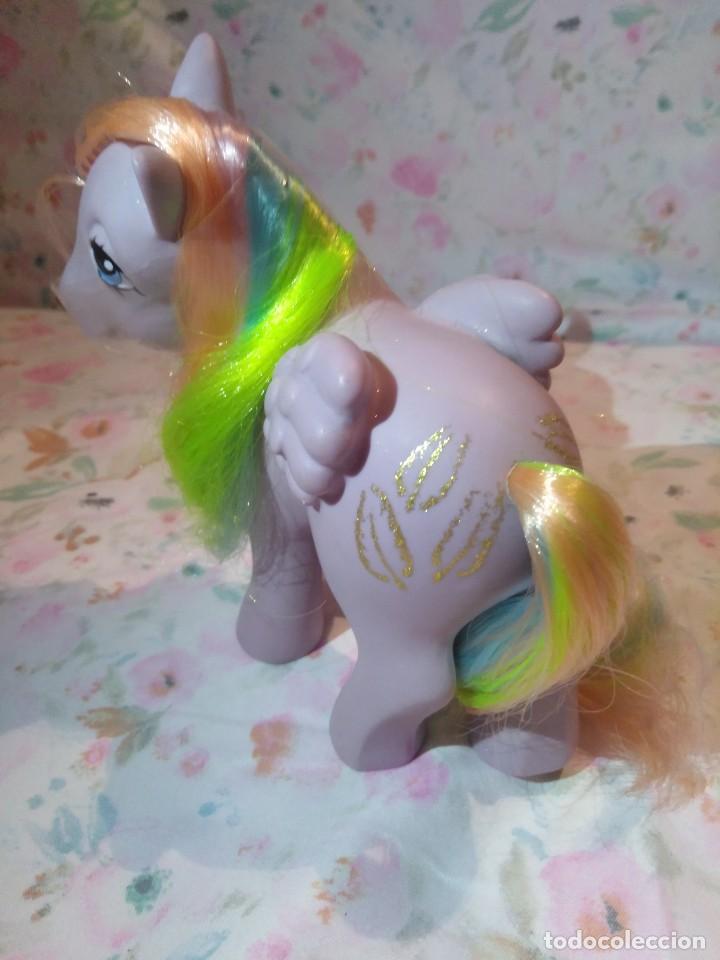 Muñecas Modernas: Mi pequeño pony, muy little pony Tickles,Pegaso Plumitas,Hasbro 1984.Nuevo - Foto 3 - 134454090