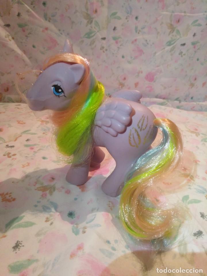 Muñecas Modernas: Mi pequeño pony, muy little pony Tickles,Pegaso Plumitas,Hasbro 1984.Nuevo - Foto 5 - 134454090