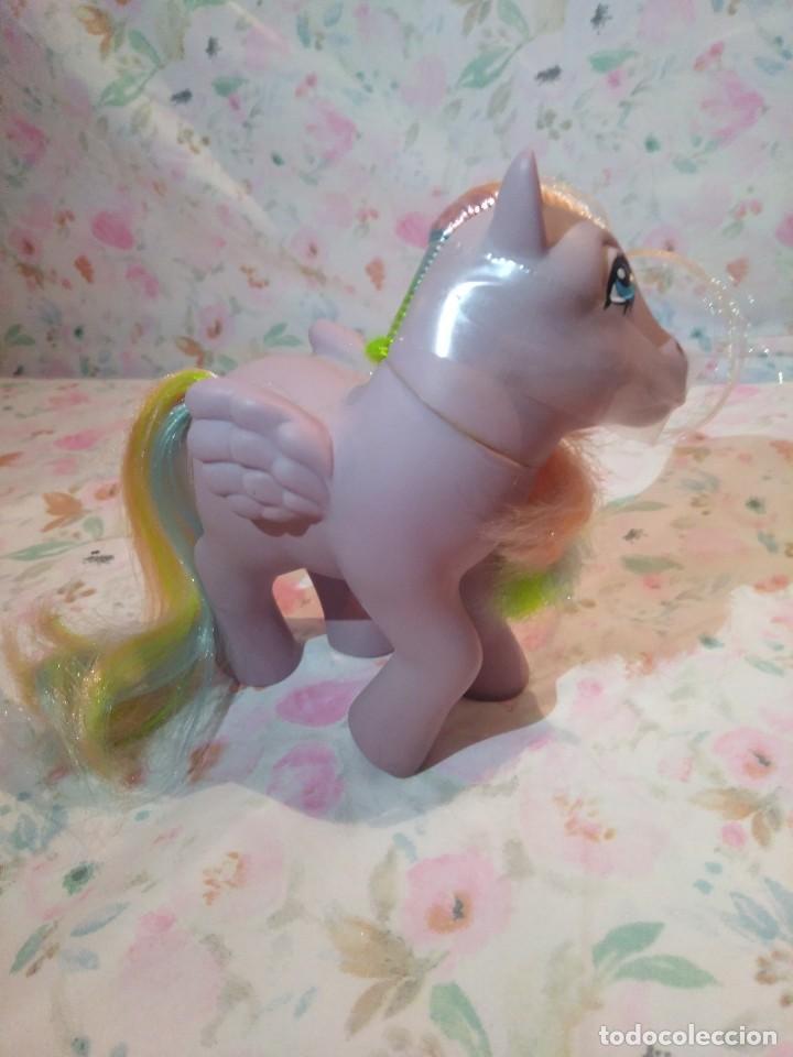 Muñecas Modernas: Mi pequeño pony, muy little pony Tickles,Pegaso Plumitas,Hasbro 1984.Nuevo - Foto 6 - 134454090