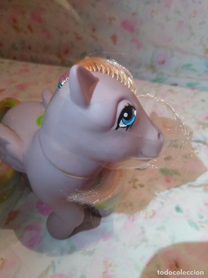 Muñecas Modernas: Mi pequeño pony, muy little pony Tickles,Pegaso Plumitas,Hasbro 1984.Nuevo - Foto 8 - 134454090