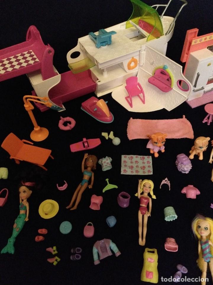 Muñecas Modernas: Lote de muñecos Polly Pocket Yate y casa,con muñecas y complementos. - Foto 9 - 135358046