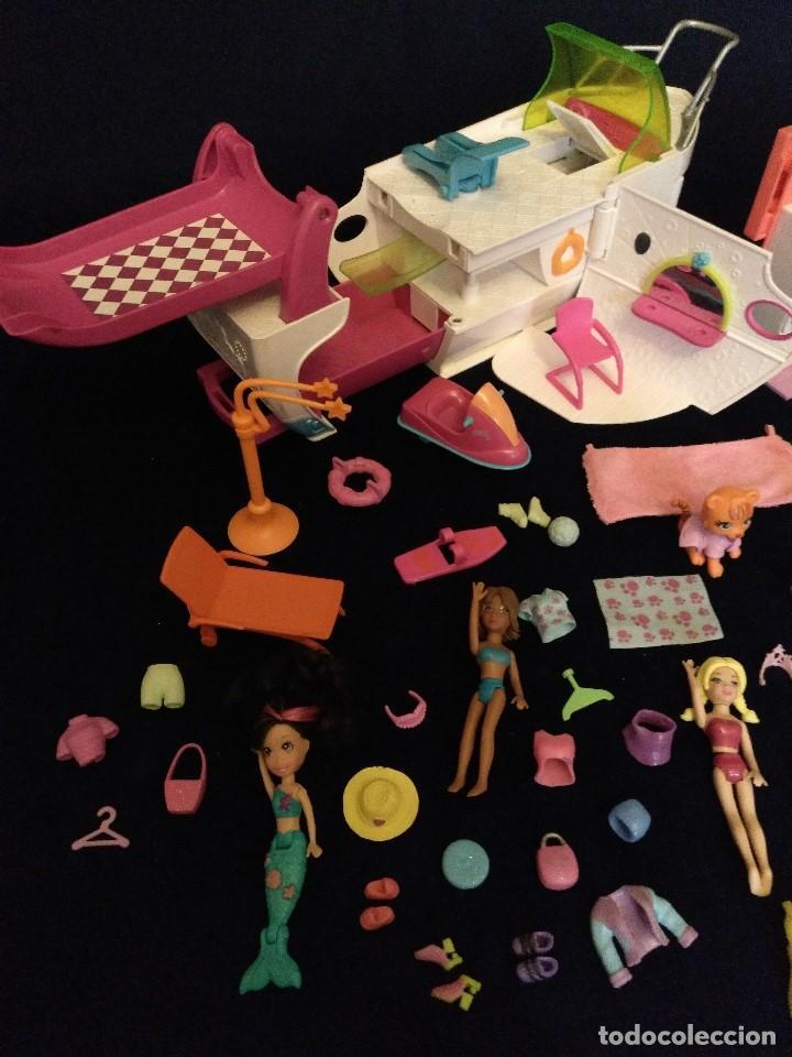 Muñecas Modernas: Lote de muñecos Polly Pocket Yate y casa,con muñecas y complementos. - Foto 10 - 135358046