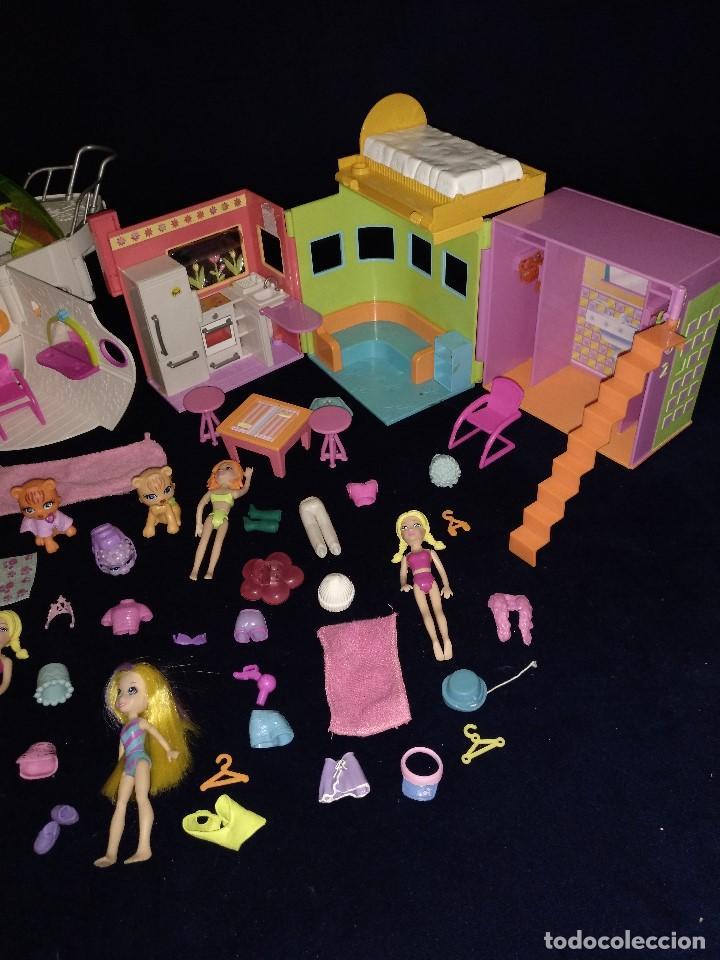 Muñecas Modernas: Lote de muñecos Polly Pocket Yate y casa,con muñecas y complementos. - Foto 12 - 135358046