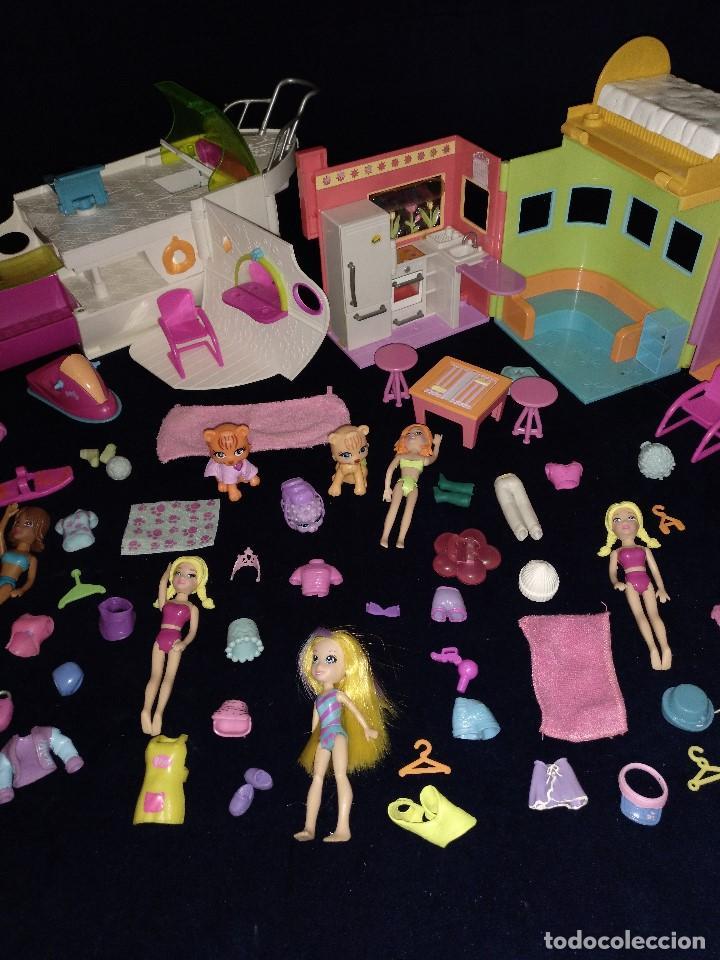 Muñecas Modernas: Lote de muñecos Polly Pocket Yate y casa,con muñecas y complementos. - Foto 13 - 135358046
