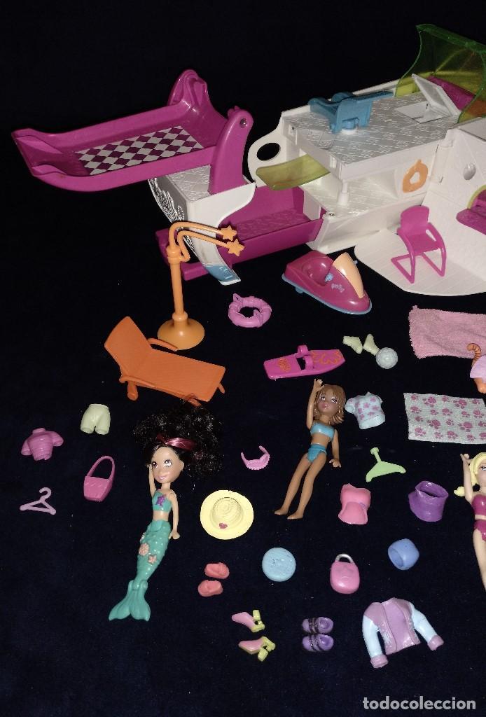 Muñecas Modernas: Lote de muñecos Polly Pocket Yate y casa,con muñecas y complementos. - Foto 15 - 135358046
