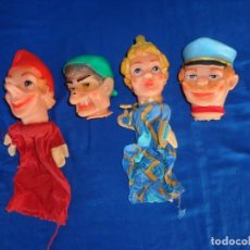 Muñecas Modernas: LOTE DE 4 MARIONETAS ANTIGUAS MADE IN WESTERN GERMANY VER FOTOS! SM. Lote 135451102