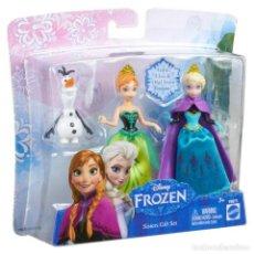 Muñecas Modernas: ANNA,ELSA Y OLAF DE FROZEN. DISNEY ,NUEVO. Lote 217510001
