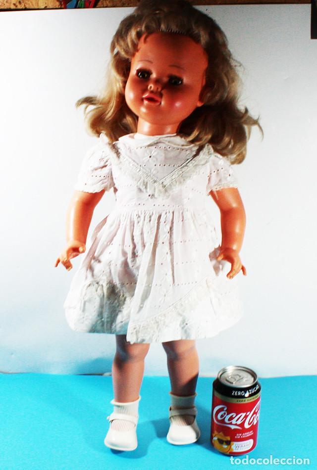 RARA MUÑECA FRANCESA RAYNAL MARGARETH ¿1964? 60 CM ALTO (Juguetes - Muñeca Extranjera Moderna - Otras Muñecas)