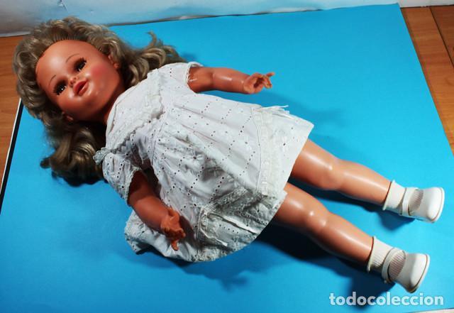 Muñecas Modernas: RARA MUÑECA FRANCESA RAYNAL MARGARETH ¿1964? 60 CM ALTO - Foto 2 - 138616362
