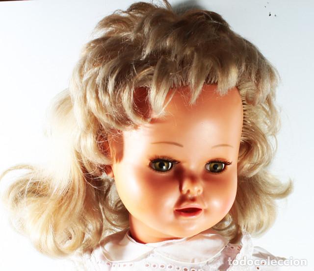 Muñecas Modernas: RARA MUÑECA FRANCESA RAYNAL MARGARETH ¿1964? 60 CM ALTO - Foto 4 - 138616362