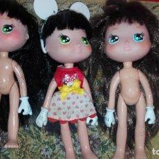 Muñecas Modernas: LOTE TRES MUUÑECAS TARTA DE FRESA. Lote 140472786
