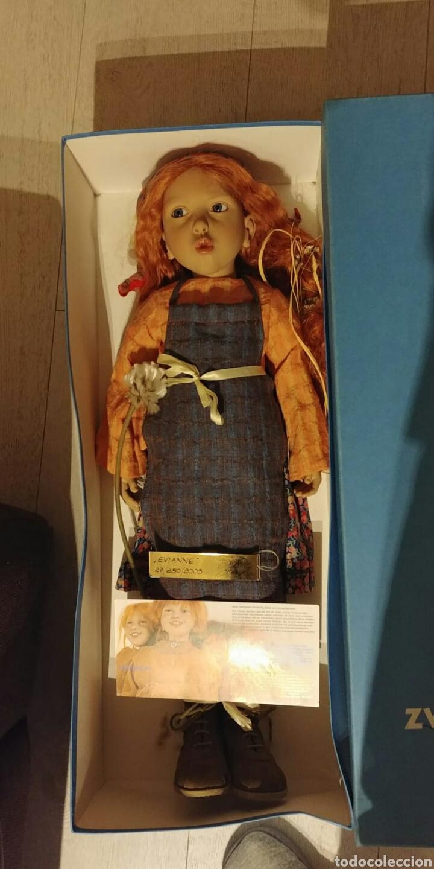 Muñecas Modernas: MUÑECA DE COLECCION EVIANNE AÑO 2003 DE ZWERGNASE - Foto 13 - 140924442