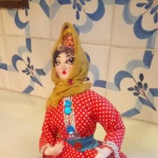 Muñecas Modernas: ANTIGUA MUÑECA HINDU DE INDIA O DEL OESTE DE ASIA . DE ROPA U TRAPO. Lote 142781346