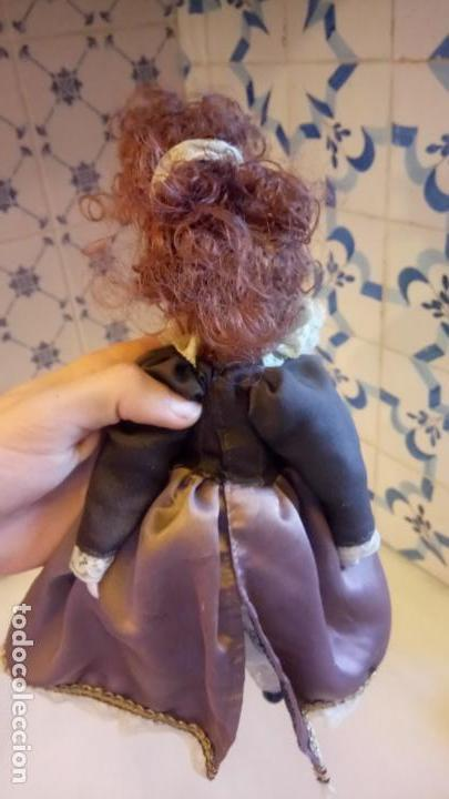 Muñecas Modernas: Antigua muñeca de Europa con precioso vestido . porcelana - Foto 6 - 142781806