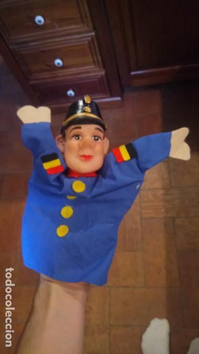 Muñecas Modernas: Antiguo titere, muñeco de belgica de goma y ropa - Foto 3 - 142782554