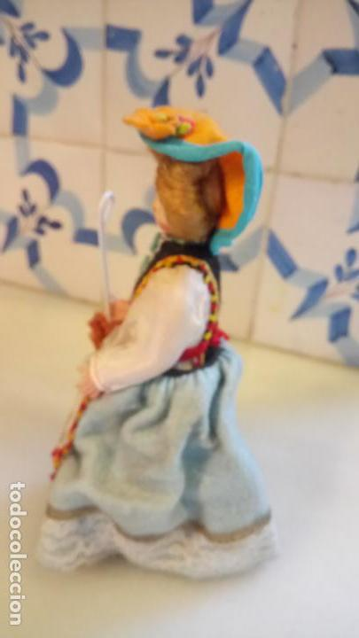 Muñecas Modernas: Antigua muñeca durmiente de pisa / italia de ropa - Foto 2 - 142785978