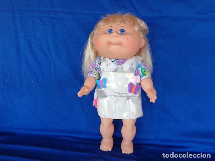 Muñecas Modernas: CABBAGE PATCH KIDS ORIGINAL CPK MIDE UNOS 38 CM, AÑO 1983, PELO A MECHAS UNA MARAVILLA! SM - Foto 3 - 142786210