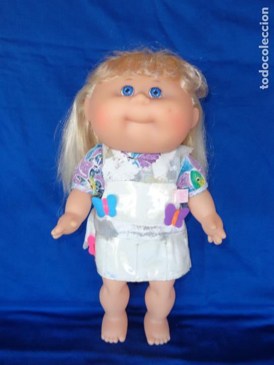 Muñecas Modernas: CABBAGE PATCH KIDS ORIGINAL CPK MIDE UNOS 38 CM, AÑO 1983, PELO A MECHAS UNA MARAVILLA! SM - Foto 5 - 142786210