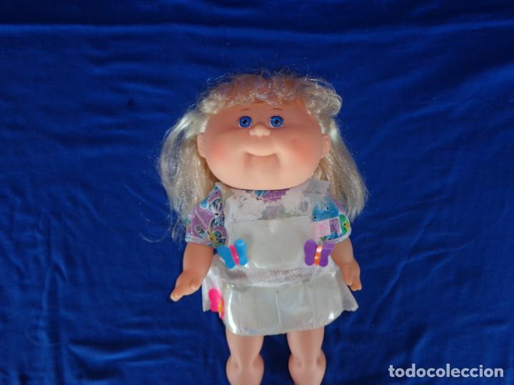 Muñecas Modernas: CABBAGE PATCH KIDS ORIGINAL CPK MIDE UNOS 38 CM, AÑO 1983, PELO A MECHAS UNA MARAVILLA! SM - Foto 17 - 142786210