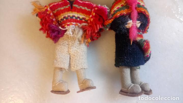 Muñecas Modernas: Antiguas muñecas de trapo mexicanas, mejicanas. pareja de muñecos - Foto 3 - 142787742