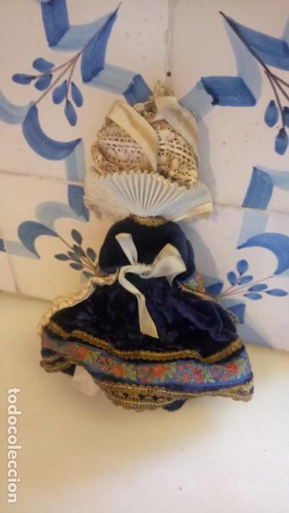 Muñecas Modernas: Antigua muñeca francesa Le minor / Marine / Marina con vestido tradicional victoriano - Foto 2 - 142788526