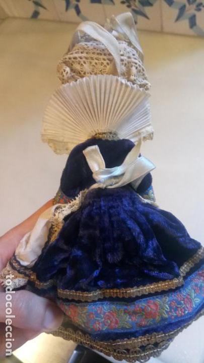 Muñecas Modernas: Antigua muñeca francesa Le minor / Marine / Marina con vestido tradicional victoriano - Foto 6 - 142788526