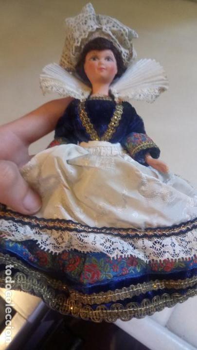 Muñecas Modernas: Antigua muñeca francesa Le minor / Marine / Marina con vestido tradicional victoriano - Foto 8 - 142788526