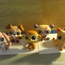 Muñecas Modernas: LOTE 6 LITTLEST PET SHOP HASBRO..MIRAR FOTOS. Lote 143625878