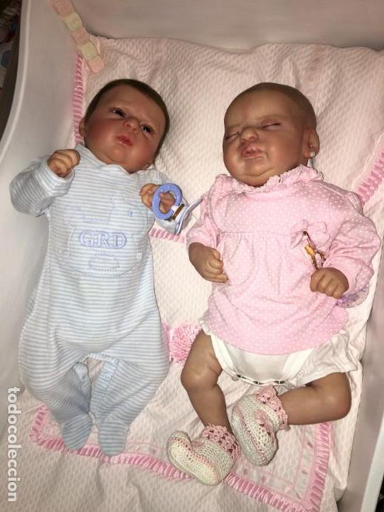 Muñecas Modernas: precioso reborn del kit ANGEL de OLGA AUER, ED. LIMITADA Y AGOTADÍSIMA - Foto 13 - 143647038