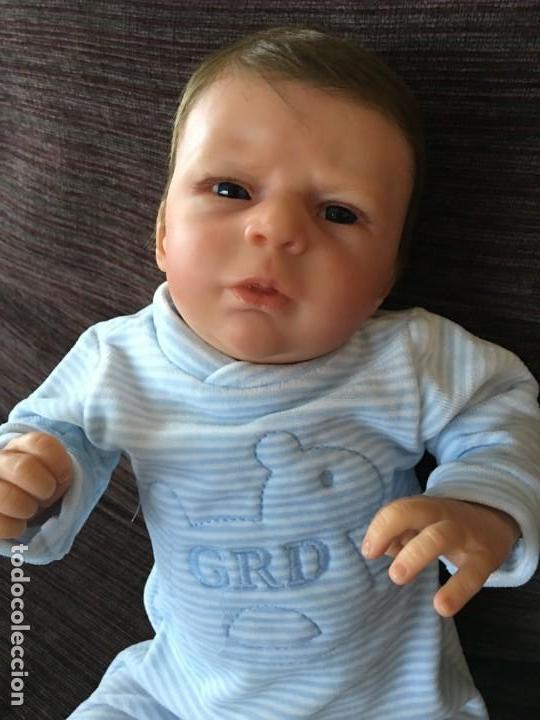Muñecas Modernas: precioso reborn del kit ANGEL de OLGA AUER, ED. LIMITADA Y AGOTADÍSIMA - Foto 17 - 143647038