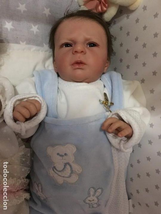 Muñecas Modernas: precioso reborn del kit ANGEL de OLGA AUER, ED. LIMITADA Y AGOTADÍSIMA - Foto 16 - 143647038