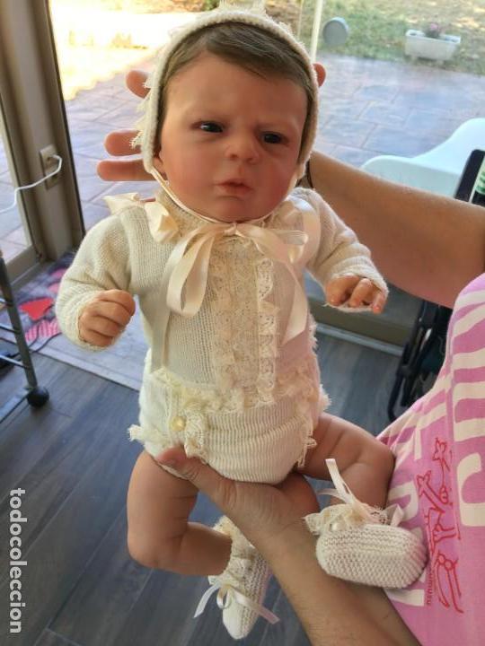 Muñecas Modernas: precioso reborn del kit ANGEL de OLGA AUER, ED. LIMITADA Y AGOTADÍSIMA - Foto 2 - 143647038