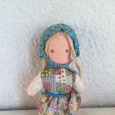 Muñecas Modernas: MUÑECA DE TRAPO HOLLY HOBBIE AÑOS 60 - 70. Lote 143952997