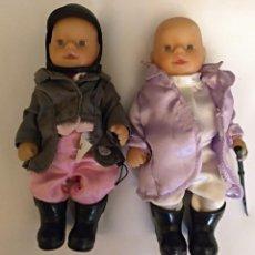 Muñecas Modernas: 2 MUÑECOS MINI BABY BORN DE ZAPF CREATION.. Lote 144653566