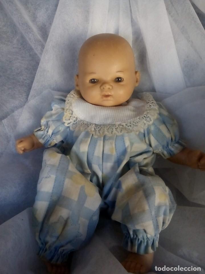 Muñecas Modernas: muñeco bebe muy blanditacuerpo de tela y goma - Foto 2 - 145200842