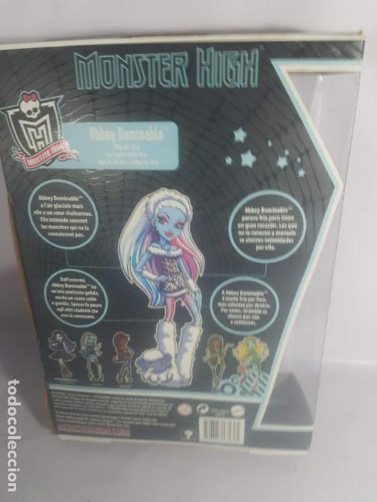 Muñecas Modernas: muñeca monster high - nueva en caja - abbey bominable - 2011 - Foto 3 - 145547750