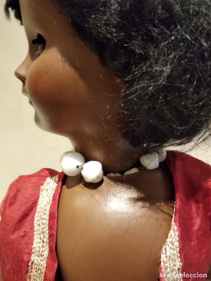 Muñecas Modernas: Muñeca negra creo que italiana, marcada - Foto 7 - 147245553