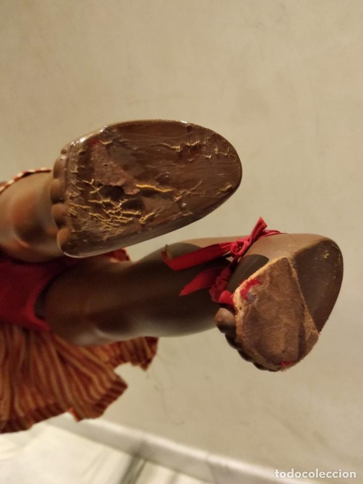 Muñecas Modernas: Muñeca negra creo que italiana, marcada - Foto 8 - 147245553