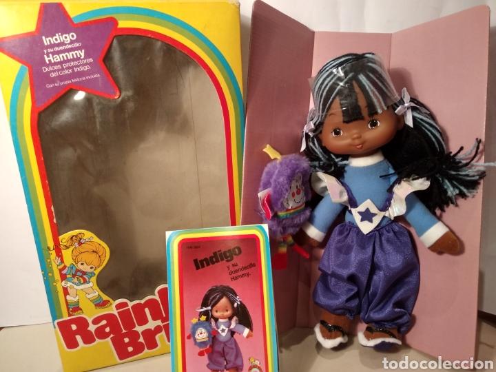 MUÑECA INDIGO DE RAINBOW BRITE. NUEVA EN SU CAJA ORIGINAL. MATTEL 1984 (Spielzeug - Moderne internationale Puppen - Andere Puppen)