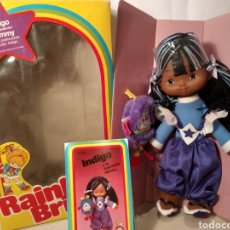 Muñecas Modernas: MUÑECA INDIGO DE RAINBOW BRITE. NUEVA EN SU CAJA ORIGINAL. MATTEL 1984. Lote 147759370