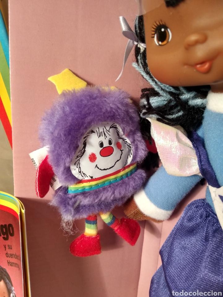 Moderne Puppen: MUÑECA INDIGO DE RAINBOW BRITE. NUEVA EN SU CAJA ORIGINAL. MATTEL 1984 - Foto 4 - 147759370