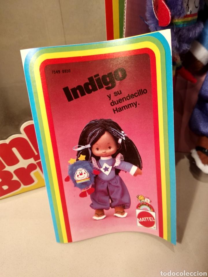Moderne Puppen: MUÑECA INDIGO DE RAINBOW BRITE. NUEVA EN SU CAJA ORIGINAL. MATTEL 1984 - Foto 5 - 147759370