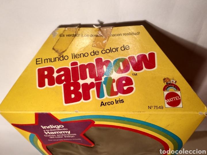 Moderne Puppen: MUÑECA INDIGO DE RAINBOW BRITE. NUEVA EN SU CAJA ORIGINAL. MATTEL 1984 - Foto 7 - 147759370
