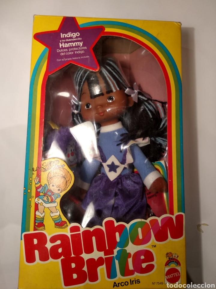 Moderne Puppen: MUÑECA INDIGO DE RAINBOW BRITE. NUEVA EN SU CAJA ORIGINAL. MATTEL 1984 - Foto 8 - 147759370