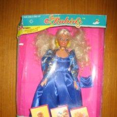 Muñecas Modernas: ANTIGUA MUÑECA ROBIN EN CAJA ORIGINAL. TOYS MANLEY 1994. Lote 148698802