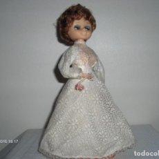 Muñecas Modernas: RARA Y ANTIGUA MUÑECA HUCHA MUSICAL AUTÓMATA 25 CM 125,00 €. Lote 148945810