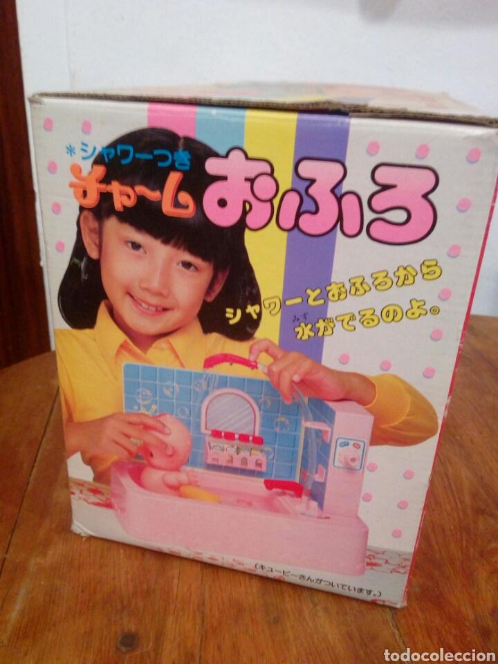 Muñecas Modernas: Juguete antiguo japones candy candy bañera con muñeco kewpie - Foto 4 - 149544188